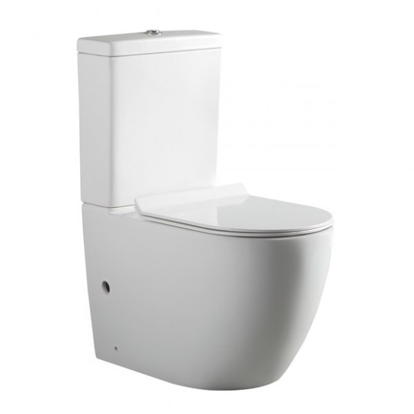 York Rimless Back To Wall Toilet Suite Bestlink